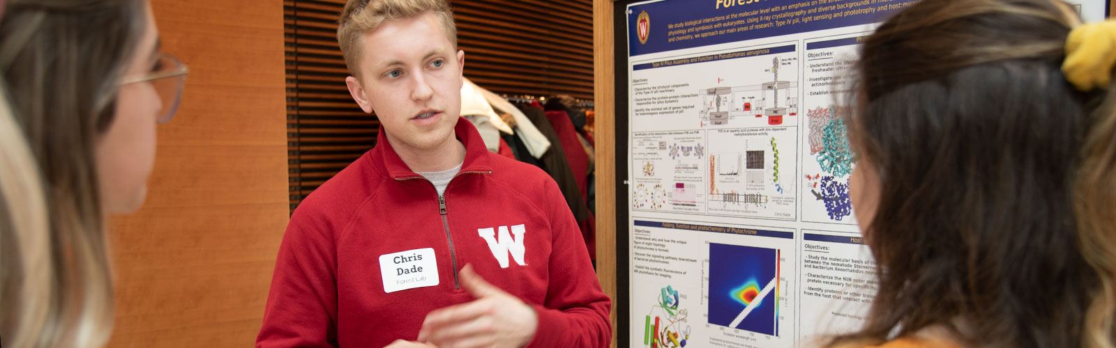 Photo from poster session 2020